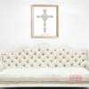 Wedding Gift Personalized Name Crosses